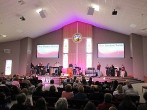 Worx Audio sound reinforcement system installed at New Stanton United Methodist Church