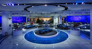 Harman's Martin Professional lighting fixtures at auto shows in the U.S. and Europe