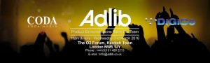 Adlib to stage 'Day of Audio Excellence' with Coda and DiGiCo