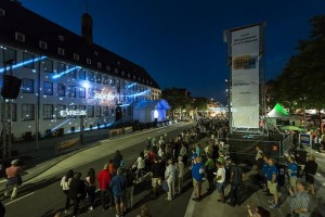 Gahrens + Battermann und Marketing4D inszenieren Show mit Holografie und 3D-Video-Mapping