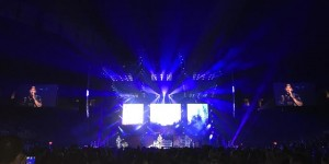 Brantley Gilbert on tour with Claypaky lighting fixtures