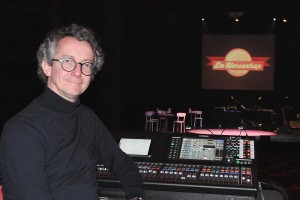 Yamaha QL5 used for 'De Hersenhap' tour