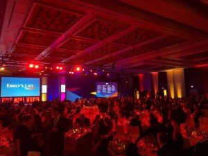 Emily's List gala illuminated by Chauvet