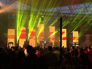 PR Live invests in new LED screen
