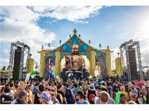 DAS Audio sound system at EDC Orlando 2015