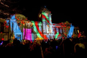 Festive installations by The Projection Studio