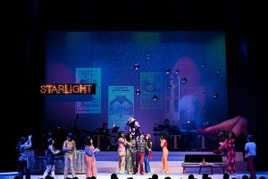 "Robe fixtures light ""Tropicana the Musical"" in Singapore"