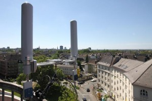 HD Wireless mit GPS-Antennen-Tracker beim Pokalkorso in Dortmund