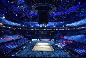 Laver Cup lit by Robe