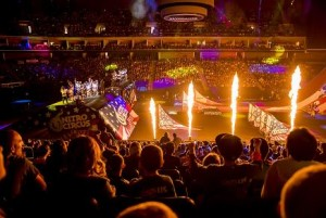 Francesco Calvi uses GLP moving heads at Nitro Circus show