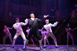 "PRG XL Video supplies MDG ATMe haze generators for ""Hamilton: An American Musical"""