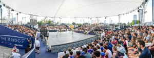 Magic Sky überdacht 3x3 World Cup in Nantes