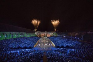 Robe BMFLs illuminate Basel Tattoo