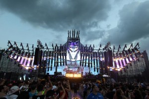 Elation lights for Electric Zoo Festival