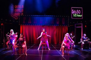 "HSL supplies moving lights for ""Sweet Charity"""