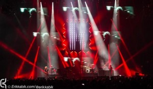 Steven Douglas uses Ayrton MagicDot-Rs for The Killers' logo