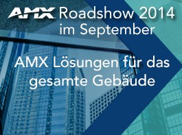 AMX: Roadshow im September