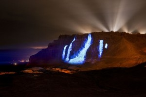 Robe equips permanent multimedia show at Masada Mountain