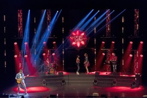 Ghost Rockers on tour with lighting design by Painting with Light's Paco Mispelters