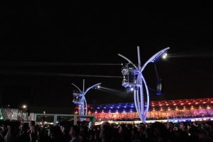 Robert Juliat's Lancelots light Rock In Rio