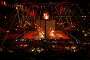 Opening Shows der EHF Champions League mit Elements Entertainment