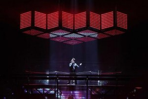 The Weeknd with more than 650 lighting fixtures from Ayrton