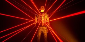 Laserjacken bei der Volkswagen Group Night