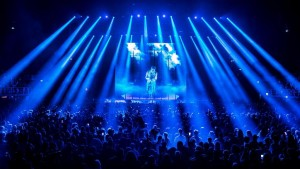 Fedez on tour with Claypaky fixtures