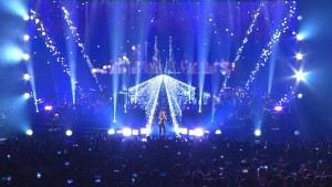 Celine Dion on tour with with Ayrton MagicPanel-R fixtures
