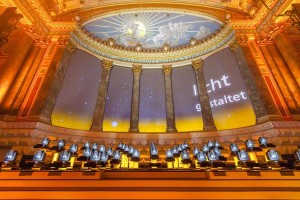 Clay Paky Sharpy 'orchestra' lights Fraunhofer award ceremony