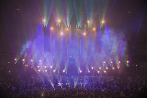 HSL supplies lighting equipment for Sigma show at Royal Albert Hall