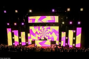 XL Video brings a glow to Red Rocks for Bassnectar
