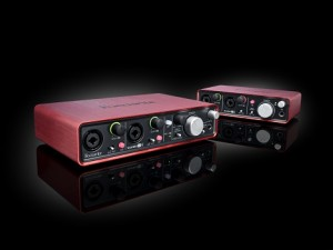 Neues USB-2.0 Audio-Interface Scarlett 2i4