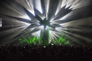 HSL provides lighting kit for Prodigy arena tour