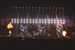 Mana on tour with Clay Paky lighting fixtures