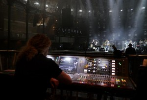 Jamiroquai on tour with a Yamaha Rivage PM10 console